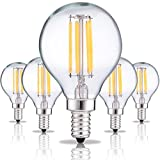 4 watt type g bulb - DORESshop Globe Light Bulbs Candelabra Base, 4W (40W Equivalent Incandescent), Dimmable G45 LED Filament Bulb, 2700K Warm White, E12 Candelabra Base, 400LM, Decorative Candle Bulbs (4 Pack)