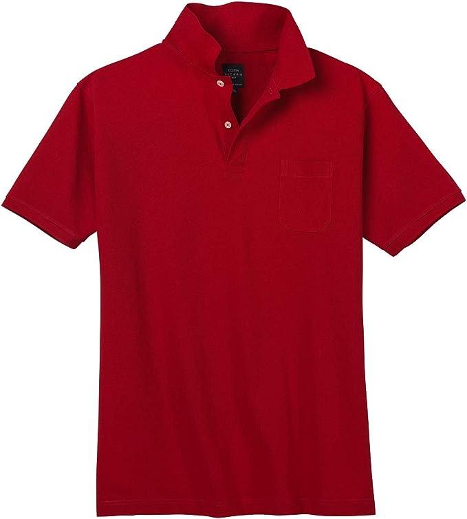 Camiseta Polo roja de Kitaro en Tallas XXL, 2xl-8xl:10xl: Amazon ...