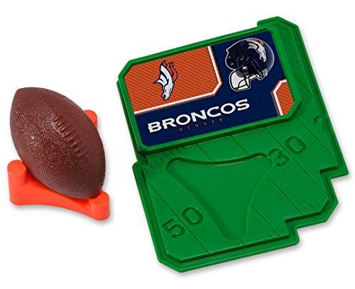 CAKEMAKE NFL Football & Tee, Cake Topper, Denver (Denver Broncos Cake)