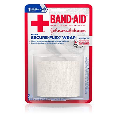 Band Aid Medium Secure Flex Wrap (Secure Flex Wrap)