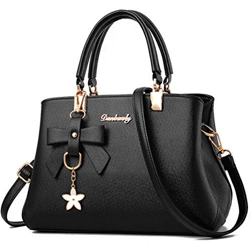 ALARION Women Top Handle Satchel Handbags Shoulder Bag Ladies Designer Purse Messenger Bags by ALARION