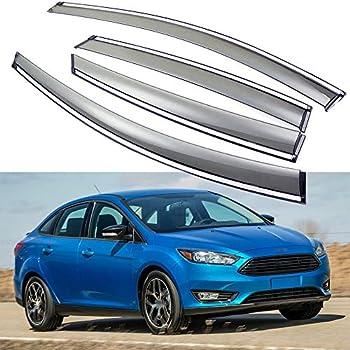 Buick Encore 2017-2019 SPEEDLONG 4Pcs Car Window Visor Vent Shade Deflector Sun//Rain Guard for Buick Encore 2017 2018 2019