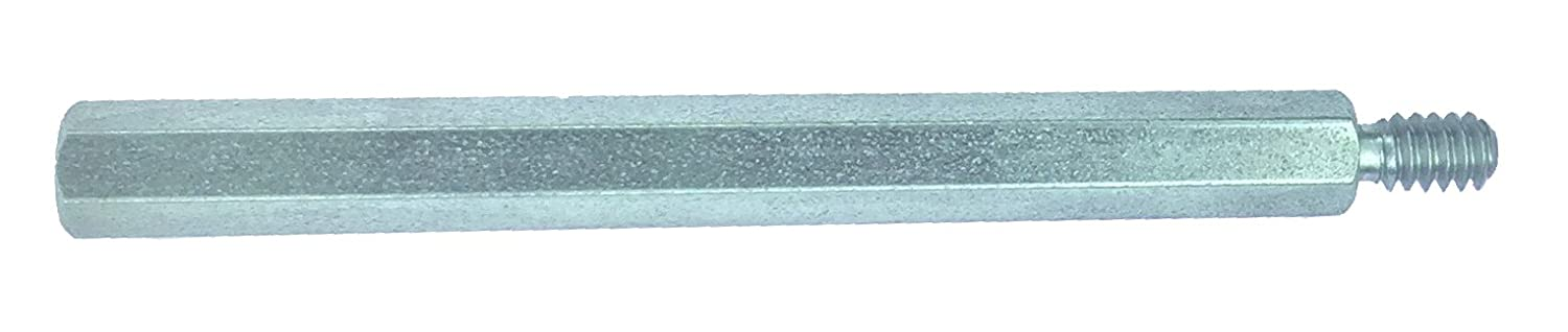 1//4-20 Screw Size Lyn-Tron 0.5 OD Pack of 10 Clear Iridite Aluminum Female 0.125 Length,
