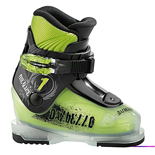 Dalbello Menace 1 Ski Boot Youth Green / Black 15.5 by Dalbello