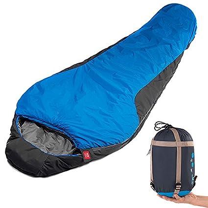VCIU@@ Saco De Dormir Al Aire Libre 9 ° C Momia Bag Keep Warm
