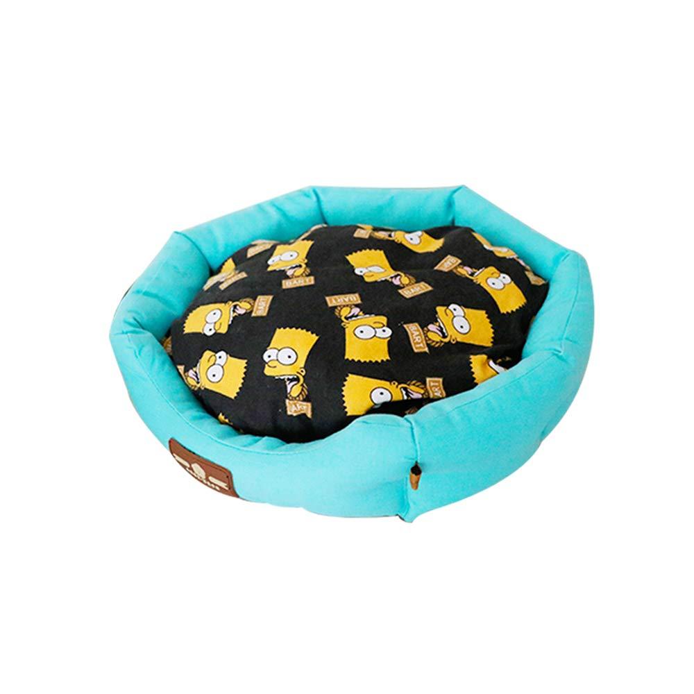 YQQ 猫の巣 s|青 青 冬 暖かく保つ ケンネル 睡眠パッド ペットハウス 睡眠パッド 四季 ウォッシャブル (色 : イエロー いえろ゜, サイズ さいず : L l) B07M5HXWFR 青 S s S s|青, CIRCLE:9b00216b --- ijpba.info