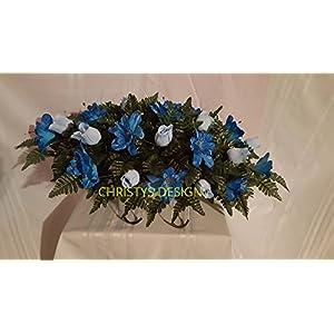 funeral flowers silk