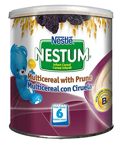 Nestle Nestum Infant Cereal, Multicereal with Prune, 9.5 OZ