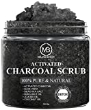 Compra Charcoal Scrub for Body and Face Cleansing & Exfoliation 10 oz - Pore Minimizer & Reduces Wrinkles, Acne Scars, Blackheads & Anti Cellulite - Great Body Scrub & Facial Scrub Cleanser 10 oz en Usame