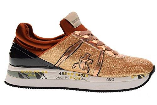 Premiata Chaussures Oro Femmes Liz 3001 Sneakers Bronzo wwgqrB
