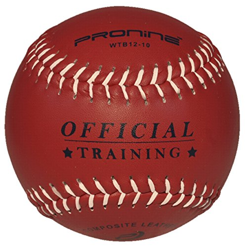 Weighted Rubber Trainer - ProNine Weighted Softball For Pitching Practice 12 Inch (10 Oz.) Ball