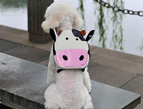 Mochila vaca para tu mascota llevara su agua, sus chuches sus toallitas y bolsas