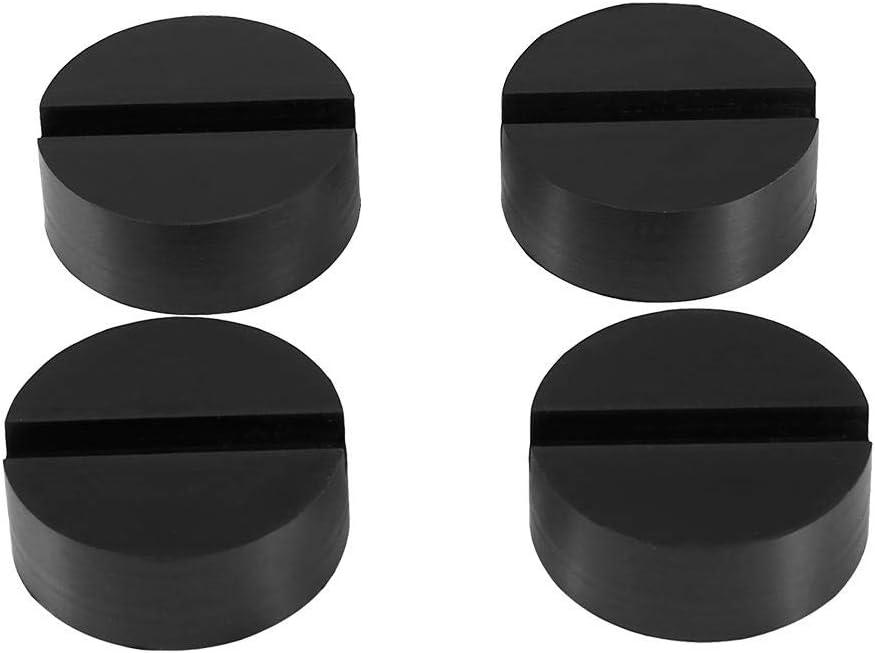 75*50mm Gummiblock Wagenheber Gummiauflage Automotive Gummiplatte f/ür Hebeb/ühnen 75*50mm und 65*33mm