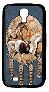 Cool Painting Samsung Galaxy I9500 Case,Soquili Shield Horse Custom PC Hard Case Cover for SamSung Galaxy S5 I9600 (picture is Galaxy S4£©