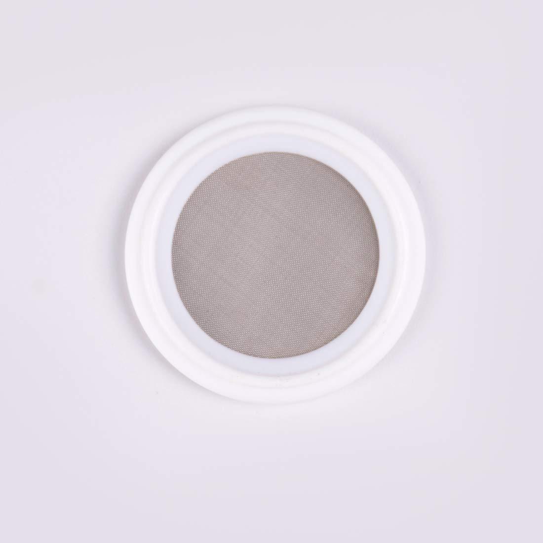 2 150 Mesh PTFE Sanitary Tri-clamp Screen Gasket Pharmaceutical Grade Filter Mesh.
