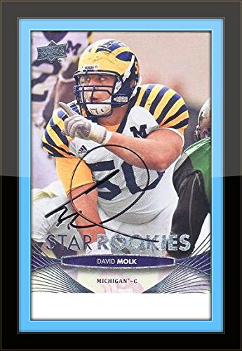 premium selection 8cdf4 33716 David Molk Michigan Autograph On Card with Certificate of ...