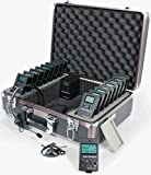 Williams Sound DWS TGS 20 300 Digi-Wave Tour Guide System 20 (1-way); Single-presenter/multiple-listener system; Frequency-hopping technology subject to less interference