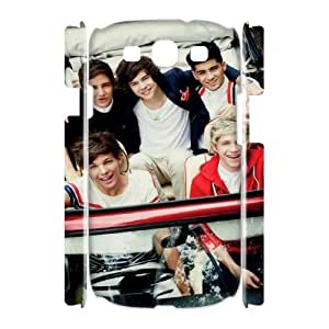 Samsung Galaxy S3 I9300 3D Custom Phone Back Case with One Direction Image