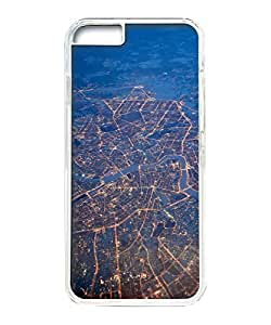 VUTTOO Iphone 6 Plus Case, Petersburg Peter Lights Night Clear Plastic Hard Case Back Cover for Apple Iphone 6 Plus 5.5 Inch