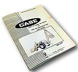 J I Case Model 23 Loader And Backhoe For 430 Ck Tractor Parts Catalog Manual