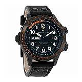 Hamilton Khaki Aviation X-Wind Black Dial Automatic Mens Leather Watch H77785733