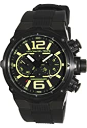 Officina Del Tempo - Power - 49mm Chronograph - OS21 Black PVD - Yellow