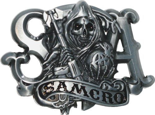 Samcro Sons Of Anarchy Belt Buckle By Ucs