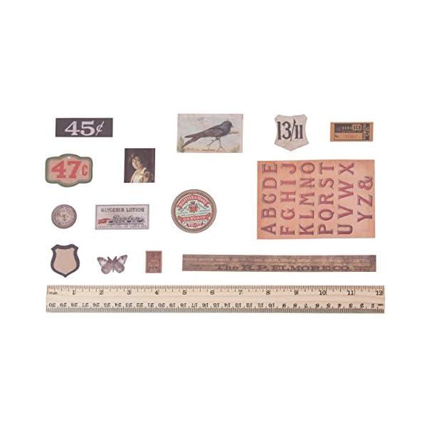 Tim Holtz Idea-ology Thrift Shop Ephemera pack 5
