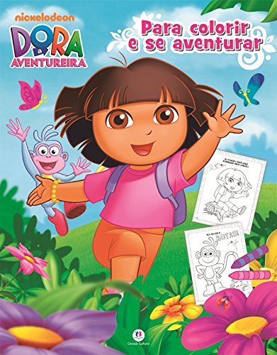 Dora, a Aventureira: Para Colorir e se Aventurar
