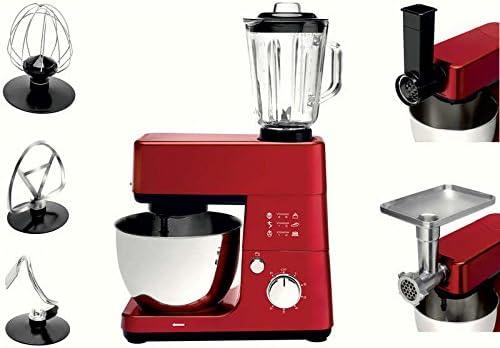 Robot de cocina roja: Amazon.es: Hogar
