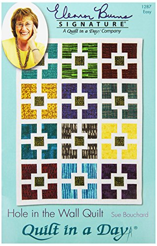 Quilt In A Day EB-1287 Eleanor Burns Pattern, Hole in The Wall