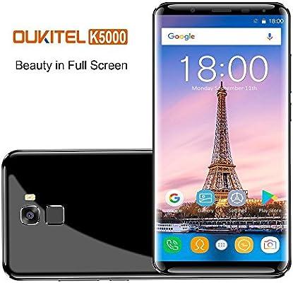 OUKITEL K5000 4G Fingerprint Smartphone (18: 9 Relación Visión Completa) + IPS Incell pantalla Android 7.0