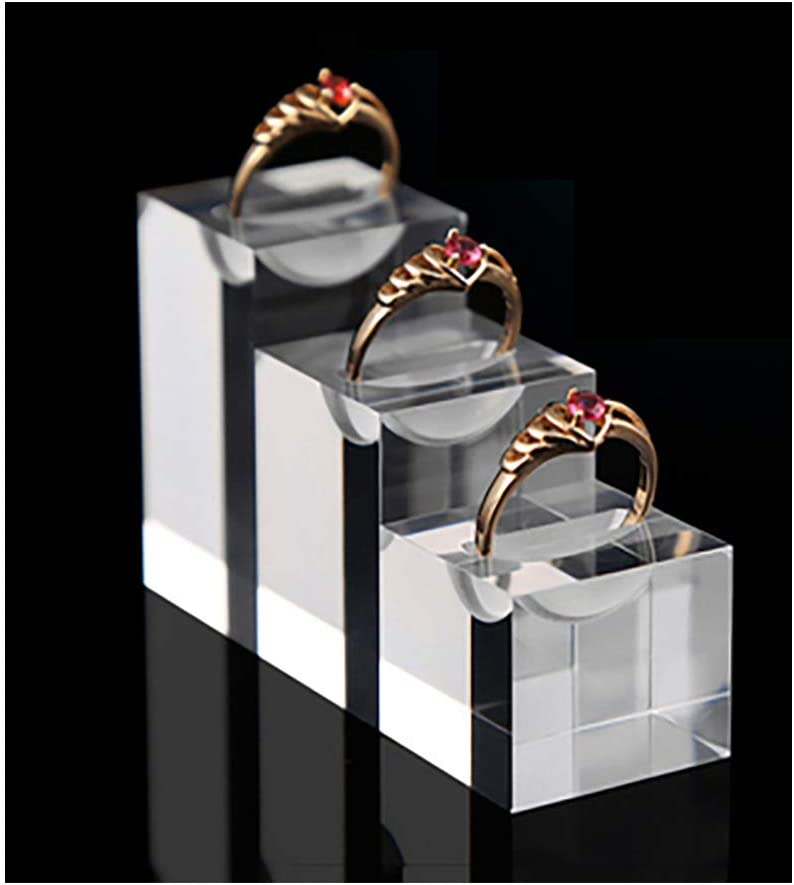 5 pc Ring/'s Holder Finger Ring Display Ring Holder Jewelry Exhibition Stand
