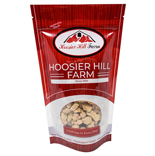- Imitation Chicken Chunks (Unflavored TVP - SOY Protein), 3 lb Bag, by Hoosier Hill Farm