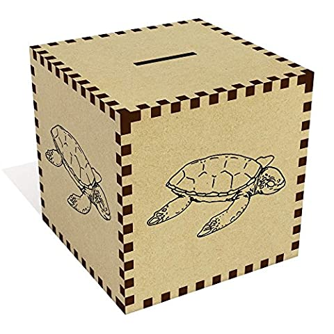 Large 'Sea Turtle' Money Box / Piggy Bank (MB00044576) - Money Turtle