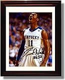 Framed John Wall #11 Autograph Replica Print - Kentucky Wildcats