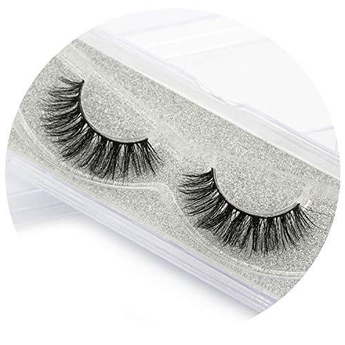 a04a03e5c29 3D Mink Lashes Eyelashes False Eyelashes Mink Eyelashes Handmade Natural  Fake Eye Lashes Extension,D011