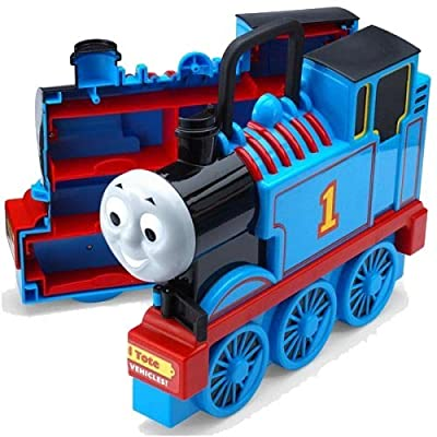 Thomas & Friends Take N Play train carry case travel on the go playbox: Toys & Games