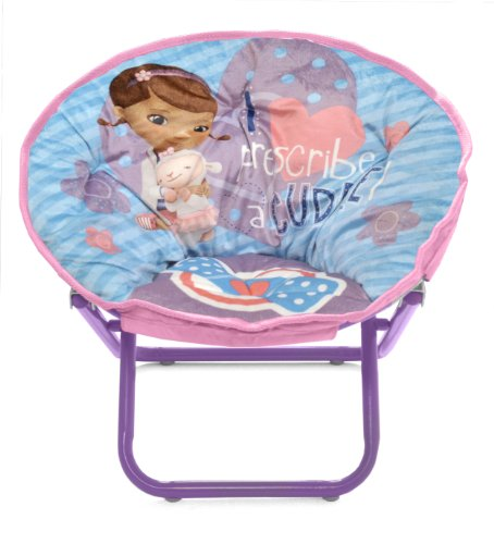 Discover Bargain Disney Doc McStuffins Toddler Saucer Chair