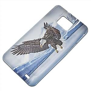 Pájaro 10002, Embossed Caso Carcasa Funda Duro Gel TPU Protección Case Cover, Diseño con Textura en Relieve para Samsung S2 i9100 i9200.