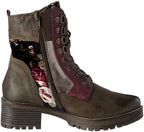 Bugatti Women's 421323313030 Boots Green (Dark Green / Multicolour 7181) aAa5G