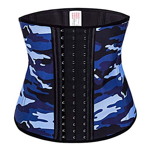 Allywit Women Camouflage Waist Trainer Underbust Corset Short Torso Mesh Body Shaper by Allywit (Image #1)