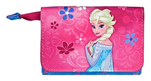 Undercover Geldbörse Disney Frozen, circa 11 x 9 x 2 cm Münzbörse, 0.5 Liter, Rosa