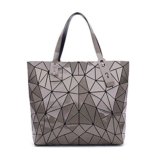 luxe sac Big Bronze de Les sac grand main géométrie d'épaule à sac femmes de Mesdames géométrique marques q4wOwCE