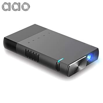 Cracklight Mini Full HD LCD Projector, AAO S1 DLP Proyector LED ...