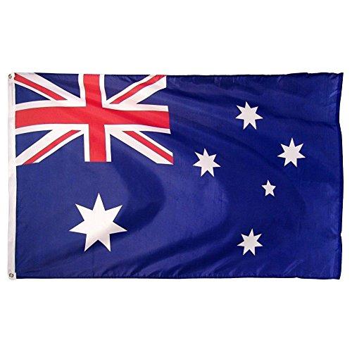 4x6 foot Australia Australian Flag Super Polyester 4'x6' Banner with - Online Australia