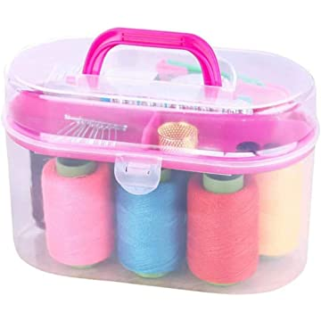 Ladiy Durable Practical Portable Sewing Box Kit Household Sewing Tool Sewing Tools