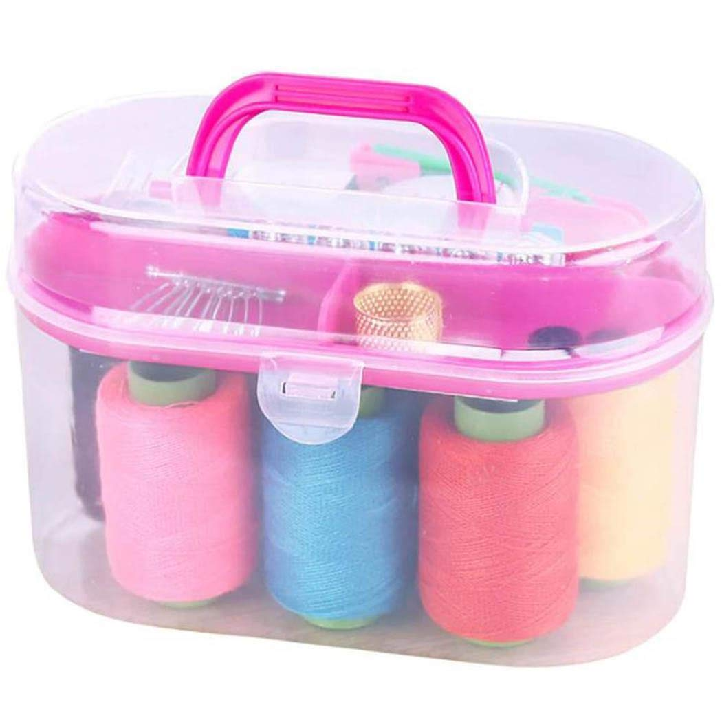piokikio Durable Practical Portable Sewing Box Kit Household Sewing Tool by piokikio