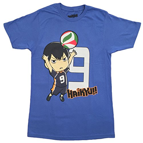 (Haikyuu: Kageyama Tobio Mens Screem Print T-Shirt (X-Large))