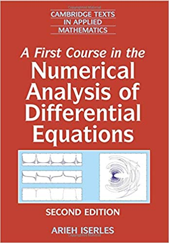 A First Course in the Numerical Analysis of Differential